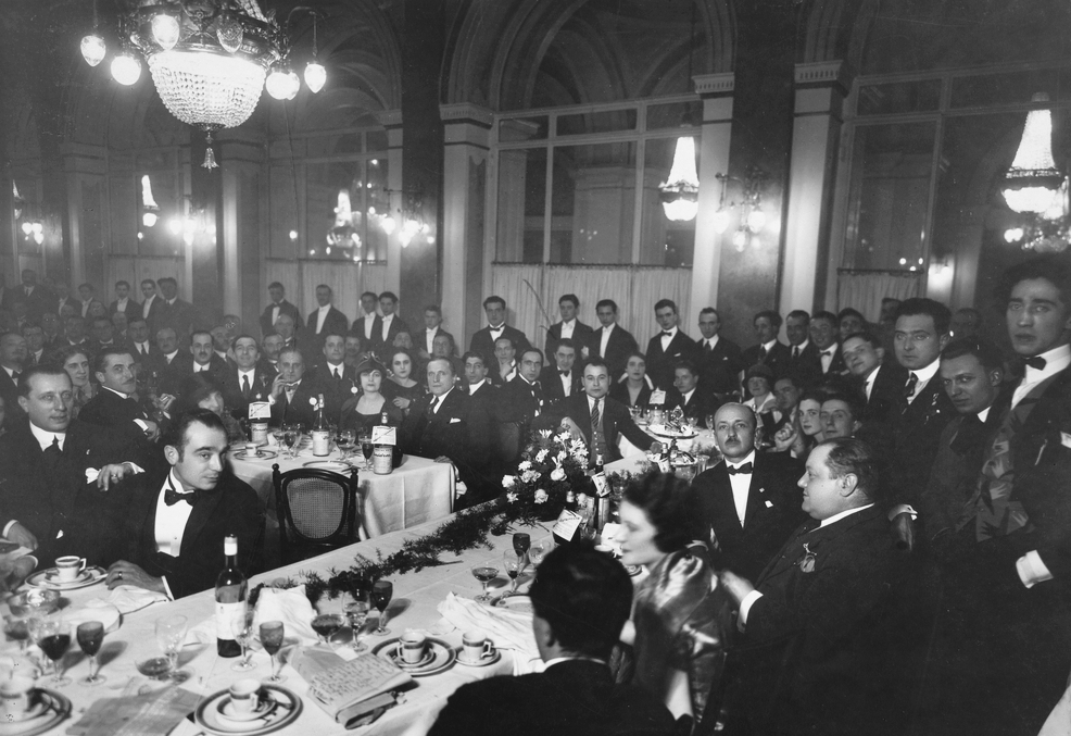 Il primo congresso dei futuristi italiani, 23 Novembre 1924.