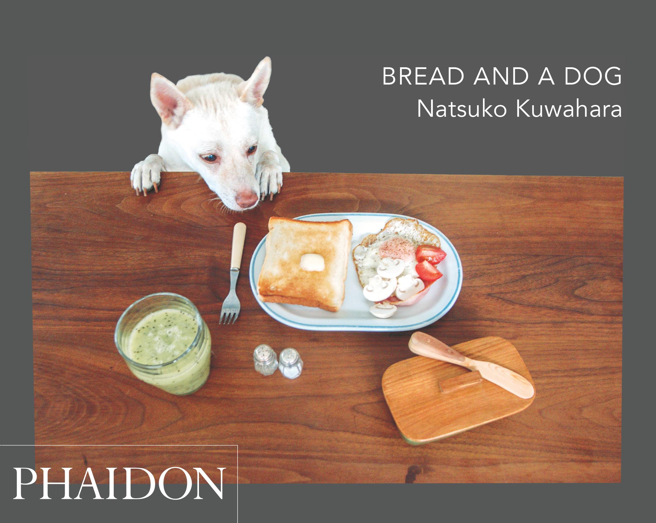 """100 fotografie che raccontano una tipica mattinata nella vita di un food stylist. Natsuko Kuwahara """"Bread and a Dog"""", Phaidon."""