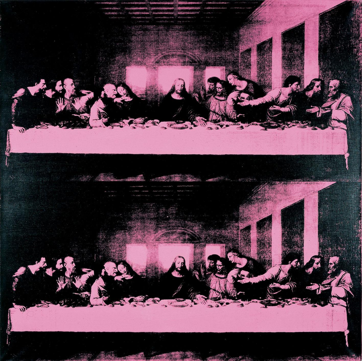 Andy Warhol, The Last Supper, 1987, Collezione Creval.