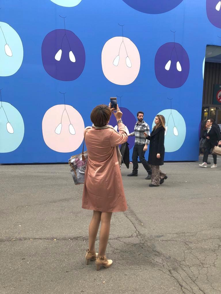 Alice Ronchi è l'artista invitata dal Padiglione Piemonte per realizzare l'immagine per il Vinitaly 2019. Foto di Alice Ronchi.