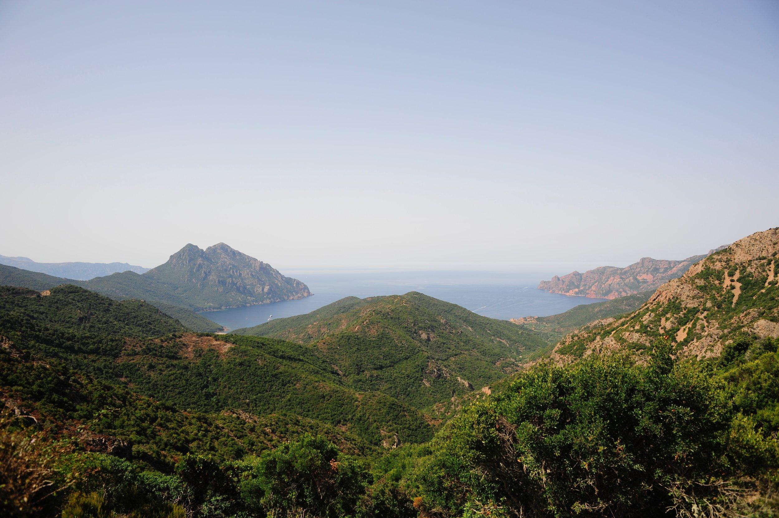 La costa corsa in una foto di Joren.