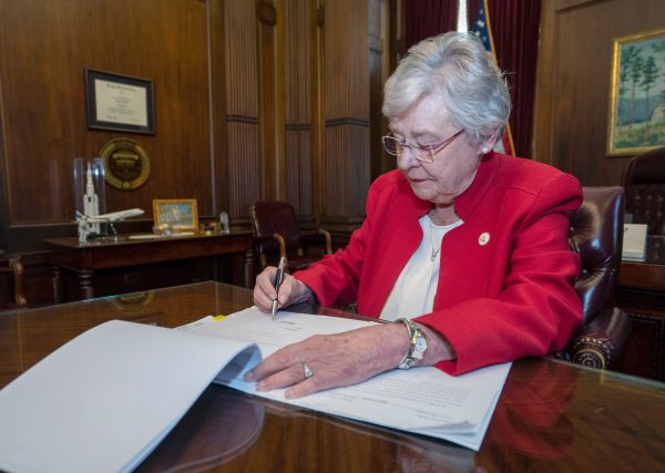 Source:  https://governor.alabama.gov/statements/governor-ivey-issues-statement-after-signing-the-alabama-human-life-protection-act/