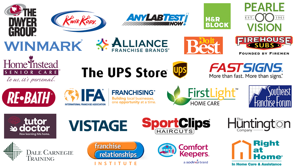 Some of our franchise clients