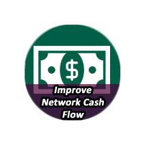 IMPROVE NETWORK CASH FLOW