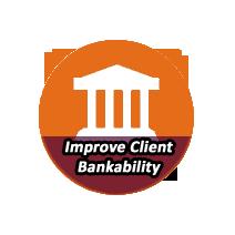 IMPROVE CLIENT BANKABILITY