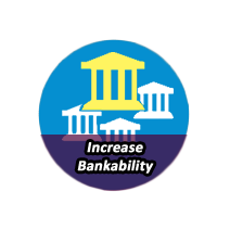 INCREASE BANKABILITY