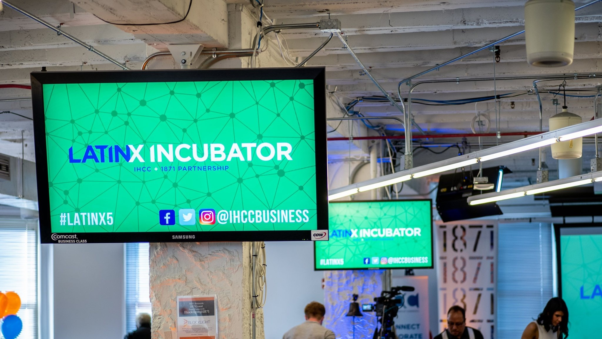 The Latinx Incubator is a first-of-its kind partnership between IHCC and 1871. The mission of the incubator is to grow the pipeline of Latinx entrepreneurs participating in and contributing to the Chicago tech and innovation economy.