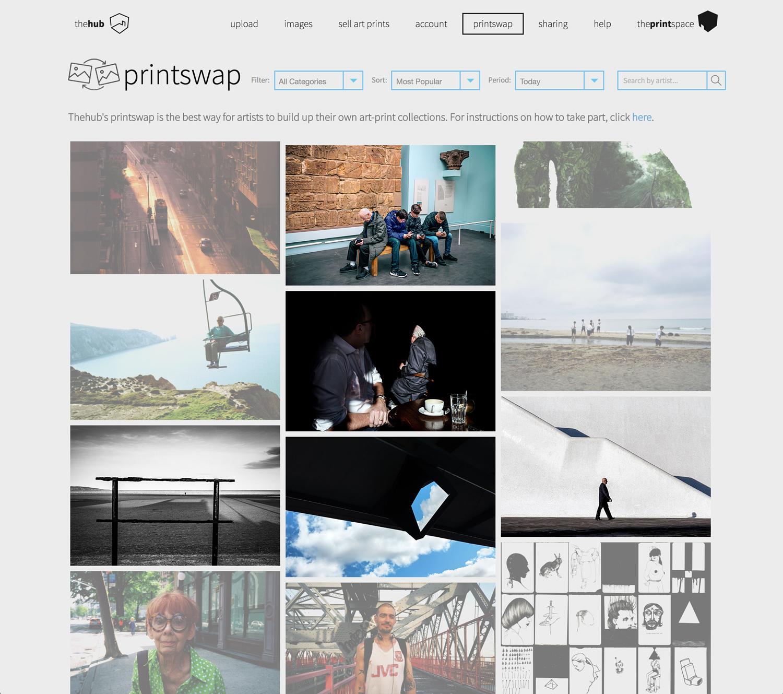 Magnum Photos and 'theprintspace' London 'Swap-Shop / Printswap' international competition.