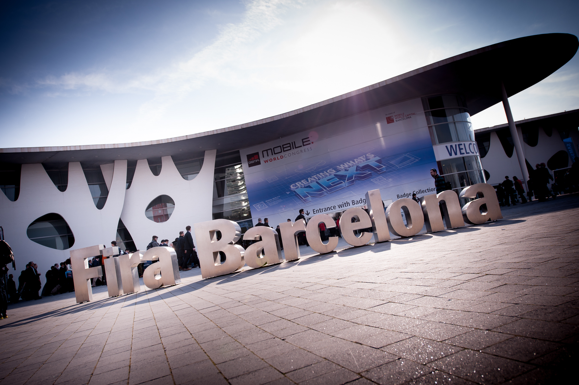 The Fira Barcelona played host to nearly 100,000 global attendees.
