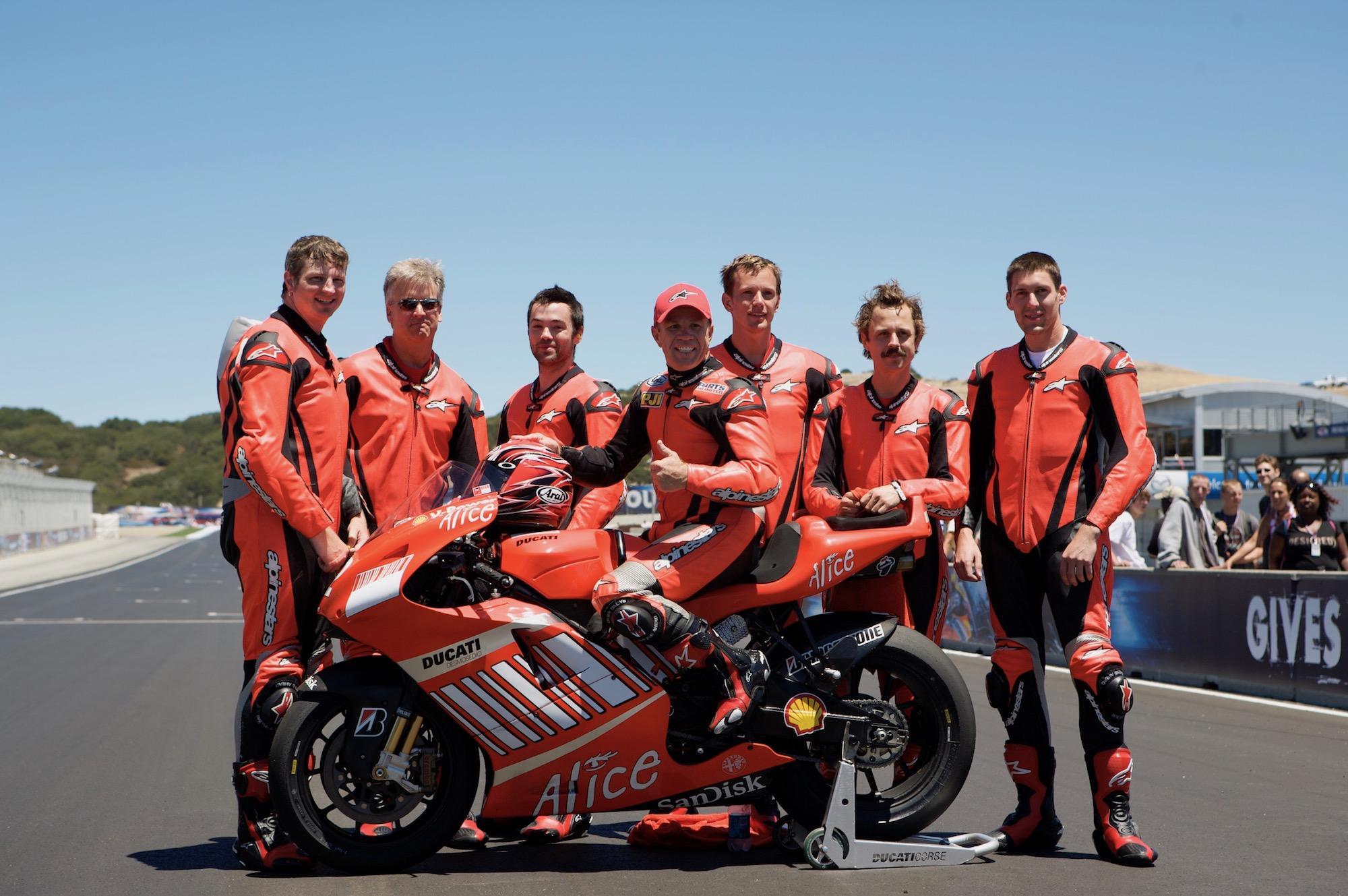 July 22, 2007 MotoGP Laguna Seca