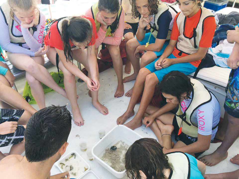 Last year, seventh-graders traveled to Florida. Credit: Anna Bull