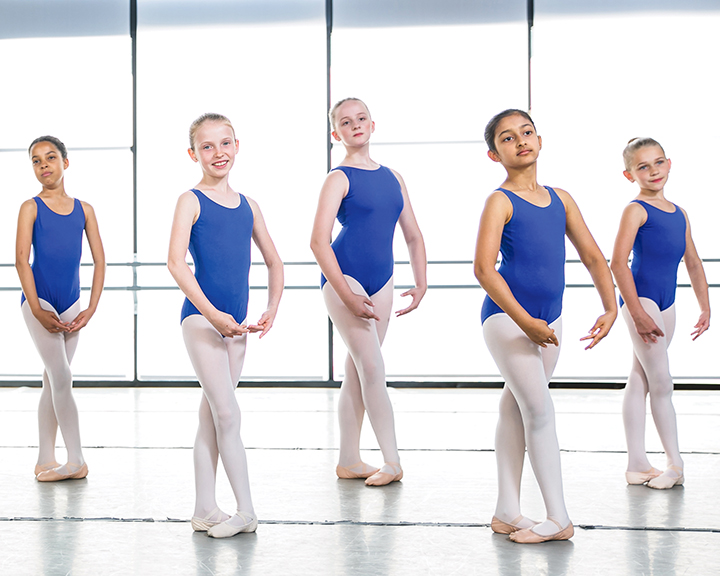 Starting the fall, Ballet Austin @ the J offers Level One classes for 8 to 10 year-olds. Courtesy of Ballet Austin.