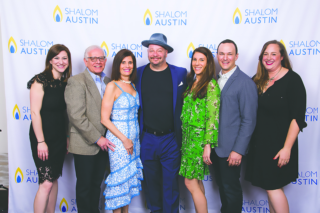 Annual Campaign Director Shana Creeger, IGNITE! Co-Chairs David and Candy Goldstein, Jeff Ross and IGNITE! Co-Chairs Heilla and Ted Lain, Sr. Development Director Amy Hyman. Credit: David Finkel Photography.
