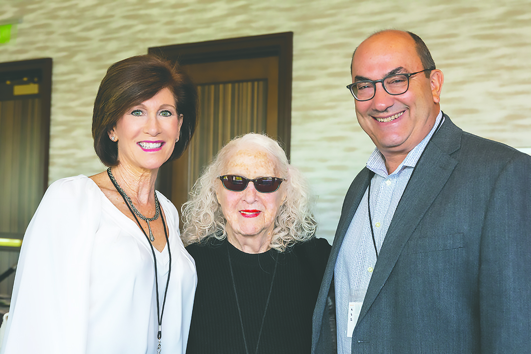 Pam Frager, Gloria Evans and Generations Campaign Co-Chair Keith Zimmerman. Credit: Jerry Hayes.