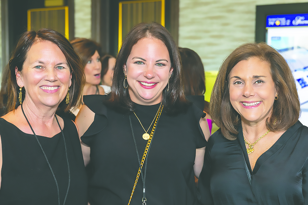 Sherrie Frachtman, Courtney Manuel, Janet Marz. Credit: Jerry Hayes.
