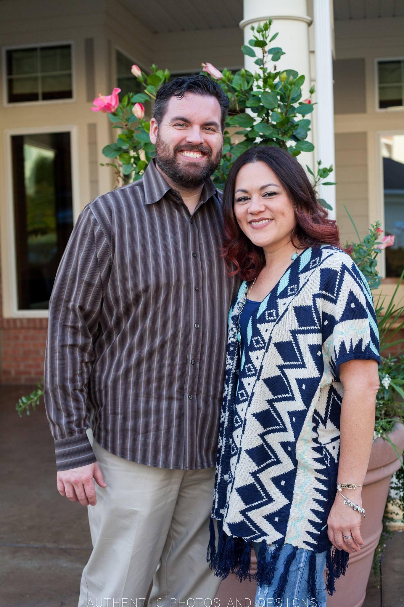 Senior Pastor Chris Wiley and wife Sonya