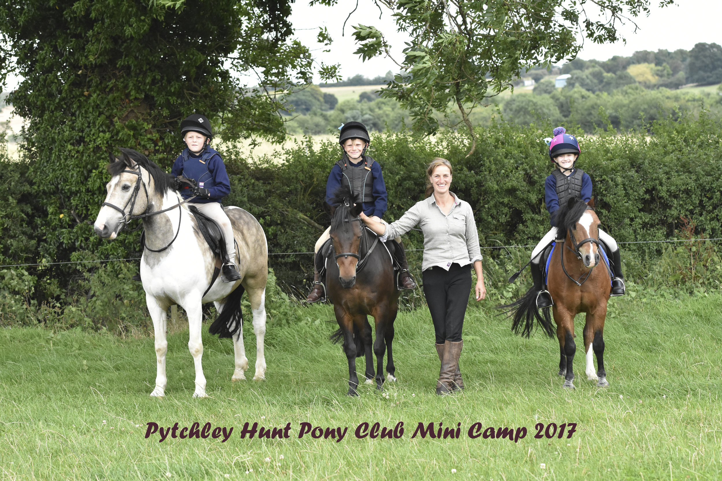 Pytchley Hunt Mini Camp 2017