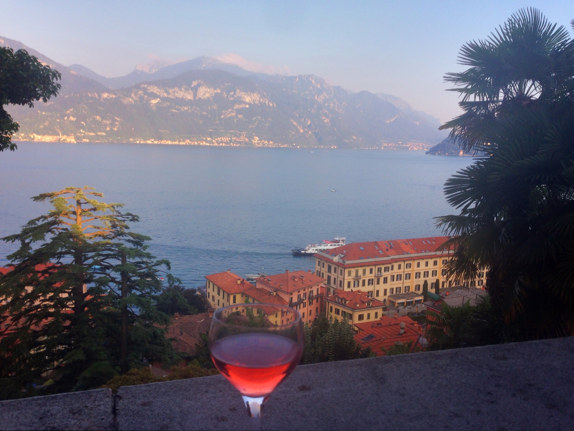 Yes, this is the actual view from an Airbnb my friends and I stayed in at Lake Como ;)