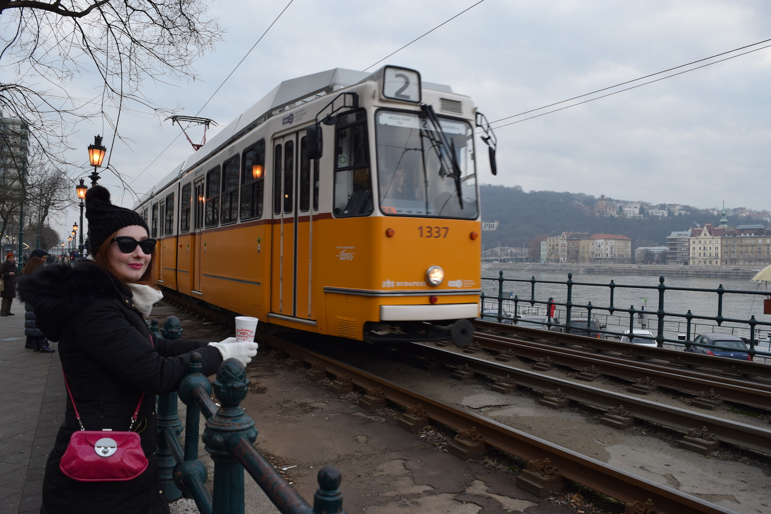 This isn't actually the metro. The photos I took were rushed and not worth of uploading, so I thought a pic of a tram would suffice...