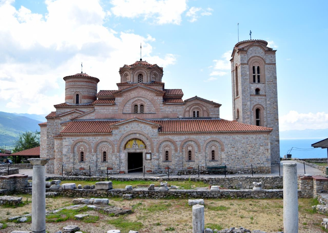 ohrid's Church of Saints Clement and Panteleimon