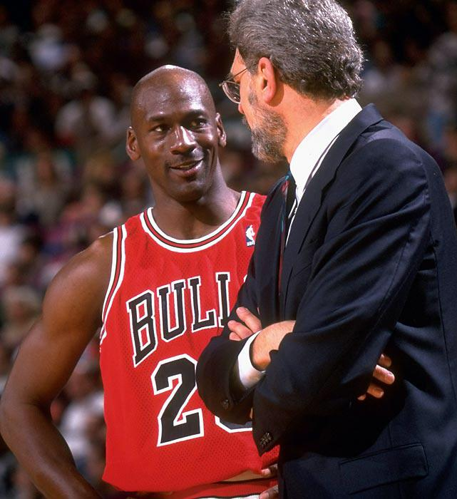 Phil Jackson and the 2nd best play of all-time after LeBron James, Michael Jordan.