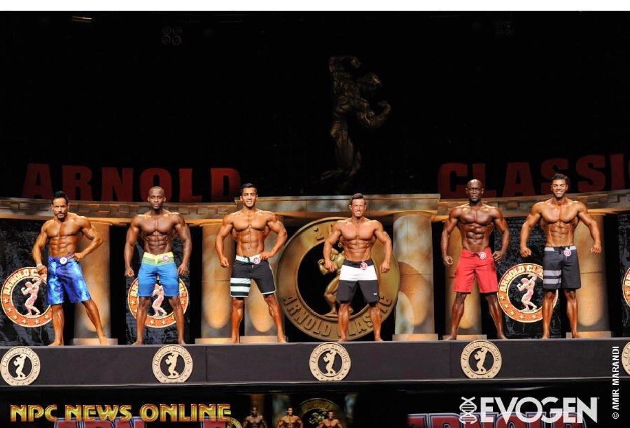 IFBB Pro Men Physique Comparison at the 2017 Arnold Sport Festival in Columbus, Ohio