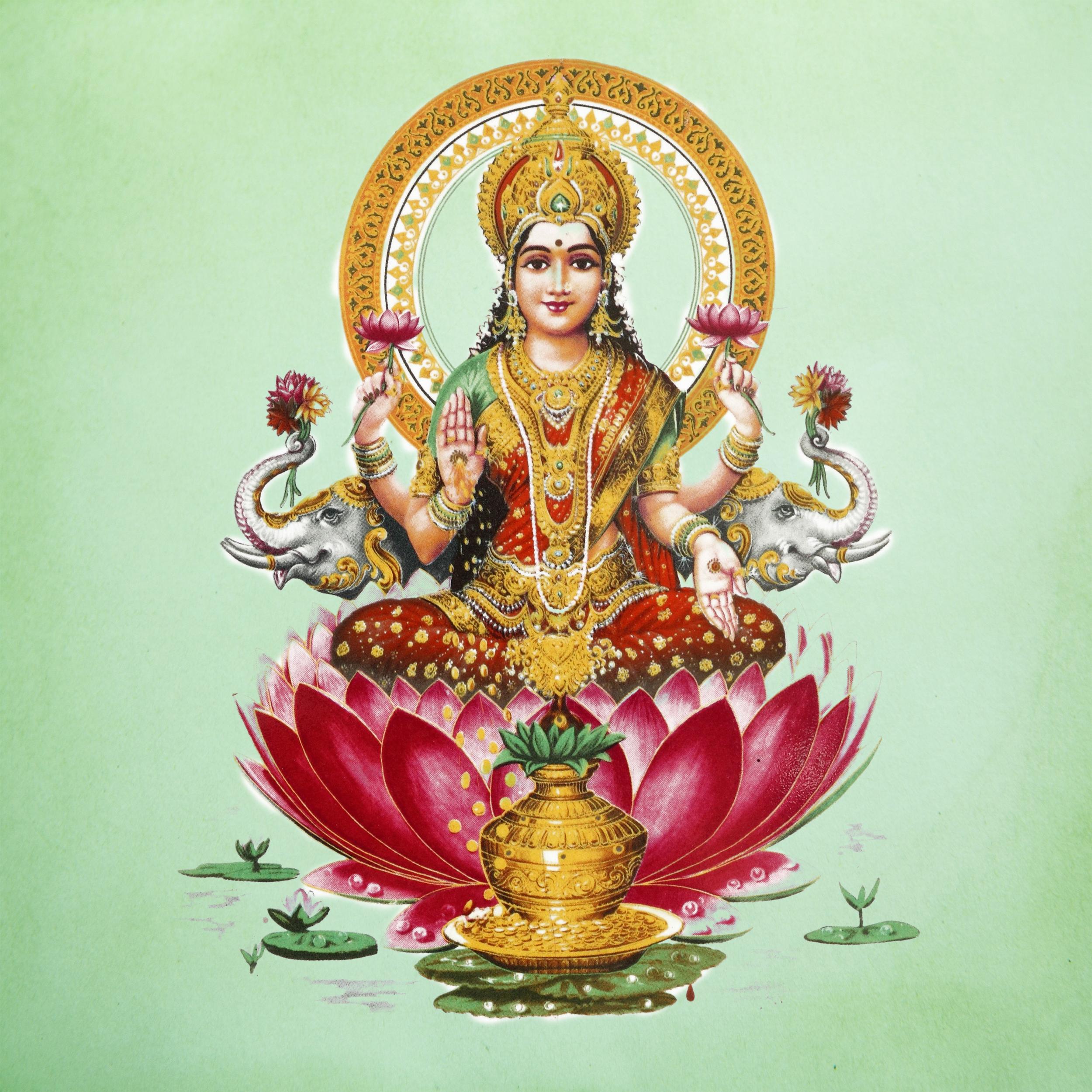 Lakshmi - goddess of wealth and harmony