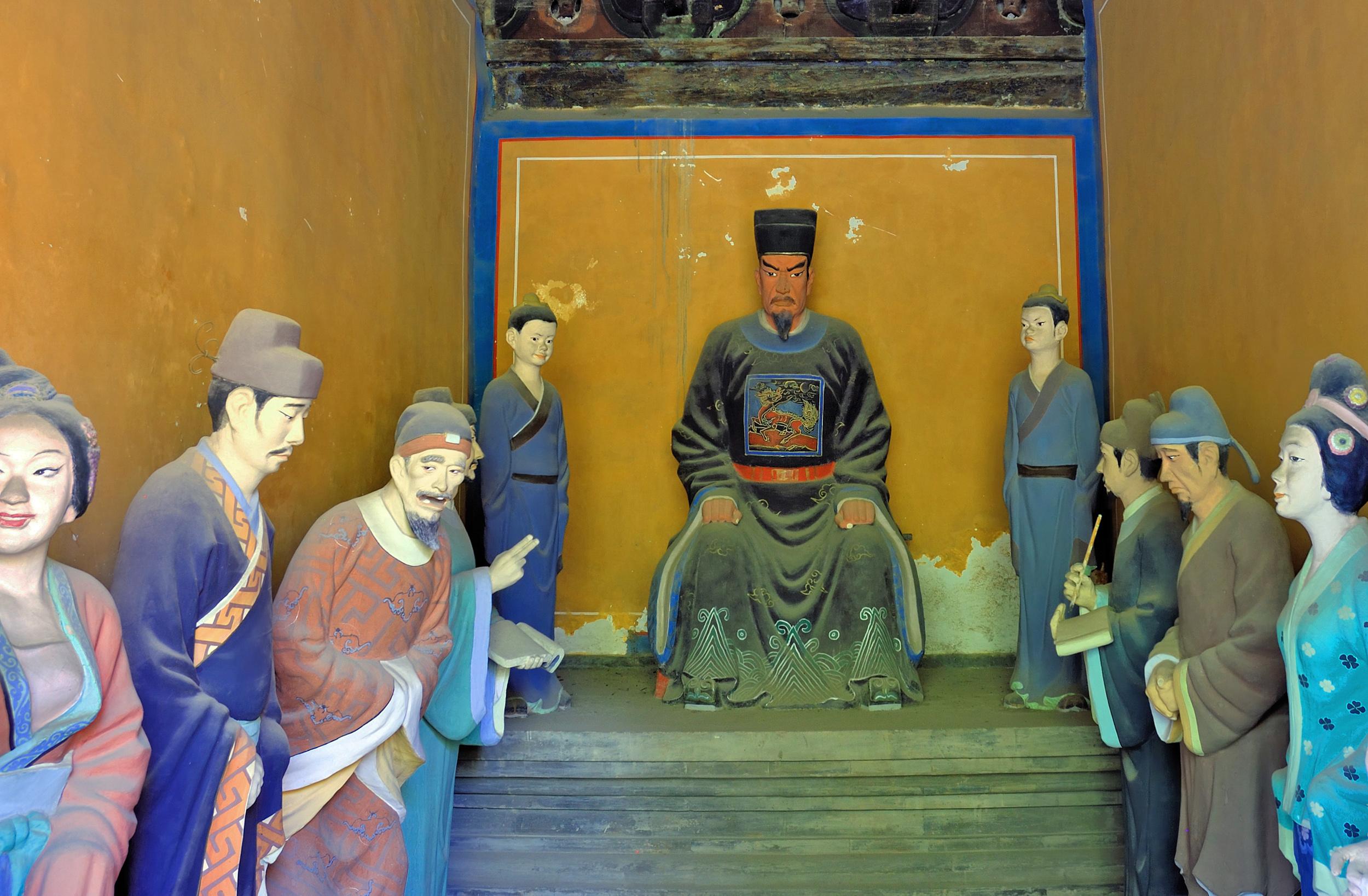 Zhengyi Daoist deities, Dongyue Temple,Beijing