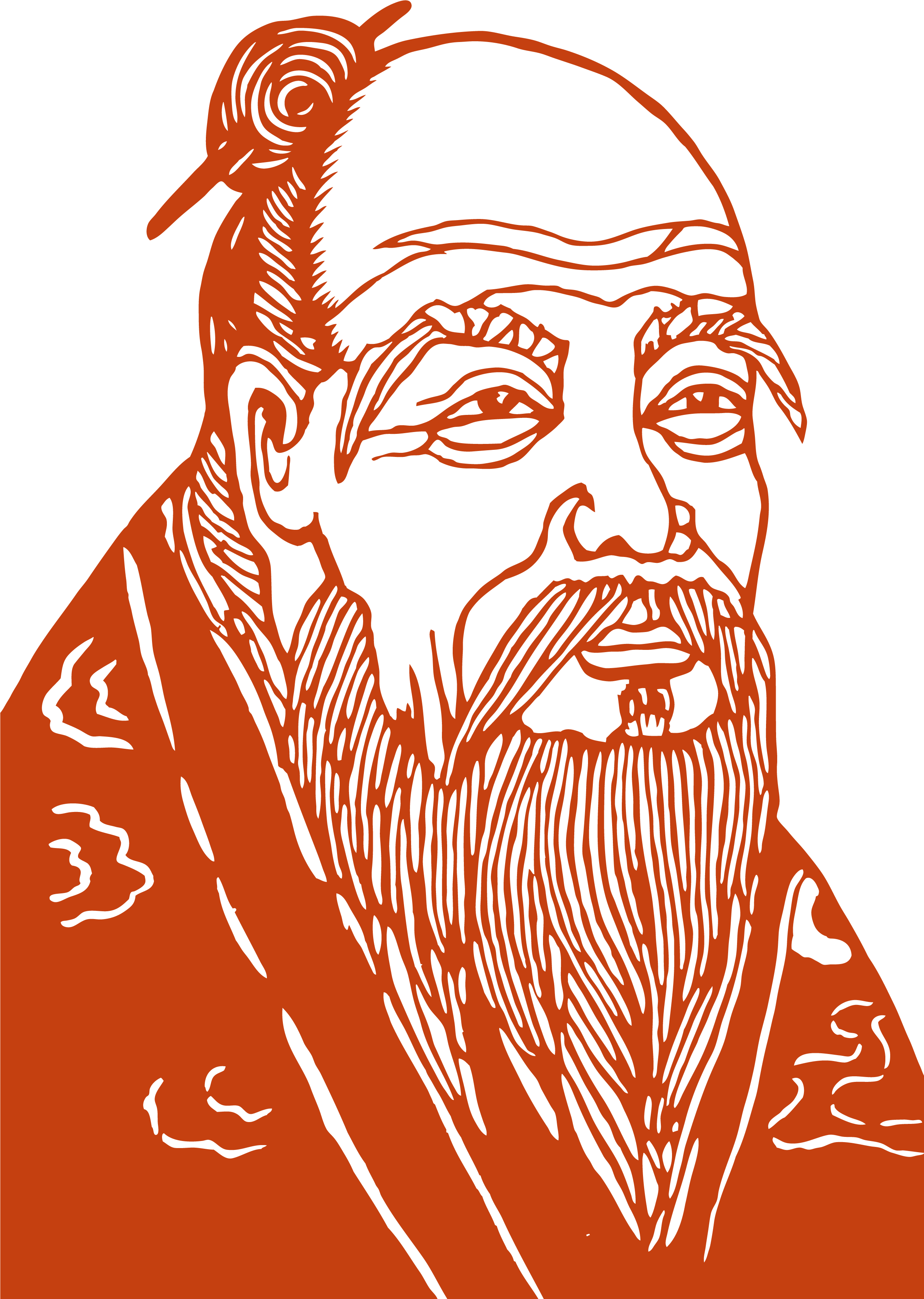 Laozi (Lao-Tzu) - ancient Chinese philosopher (circa 400 - 600 BCE)and author of Dao De Jing (Tao Te Ching)