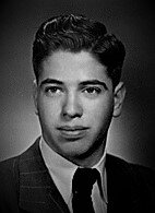 High school senior photo, taken in 1950