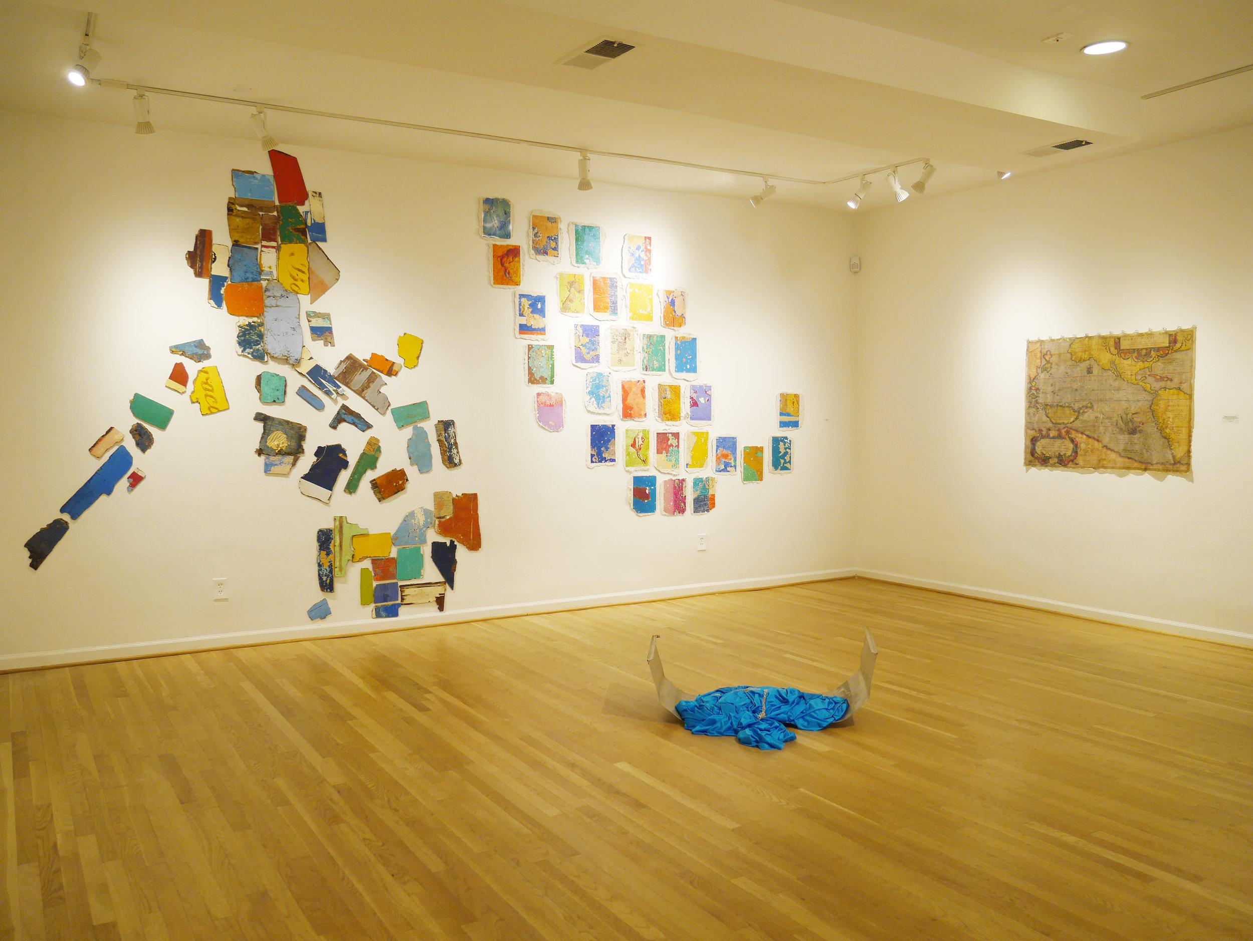 installation view: Fragments, 2017