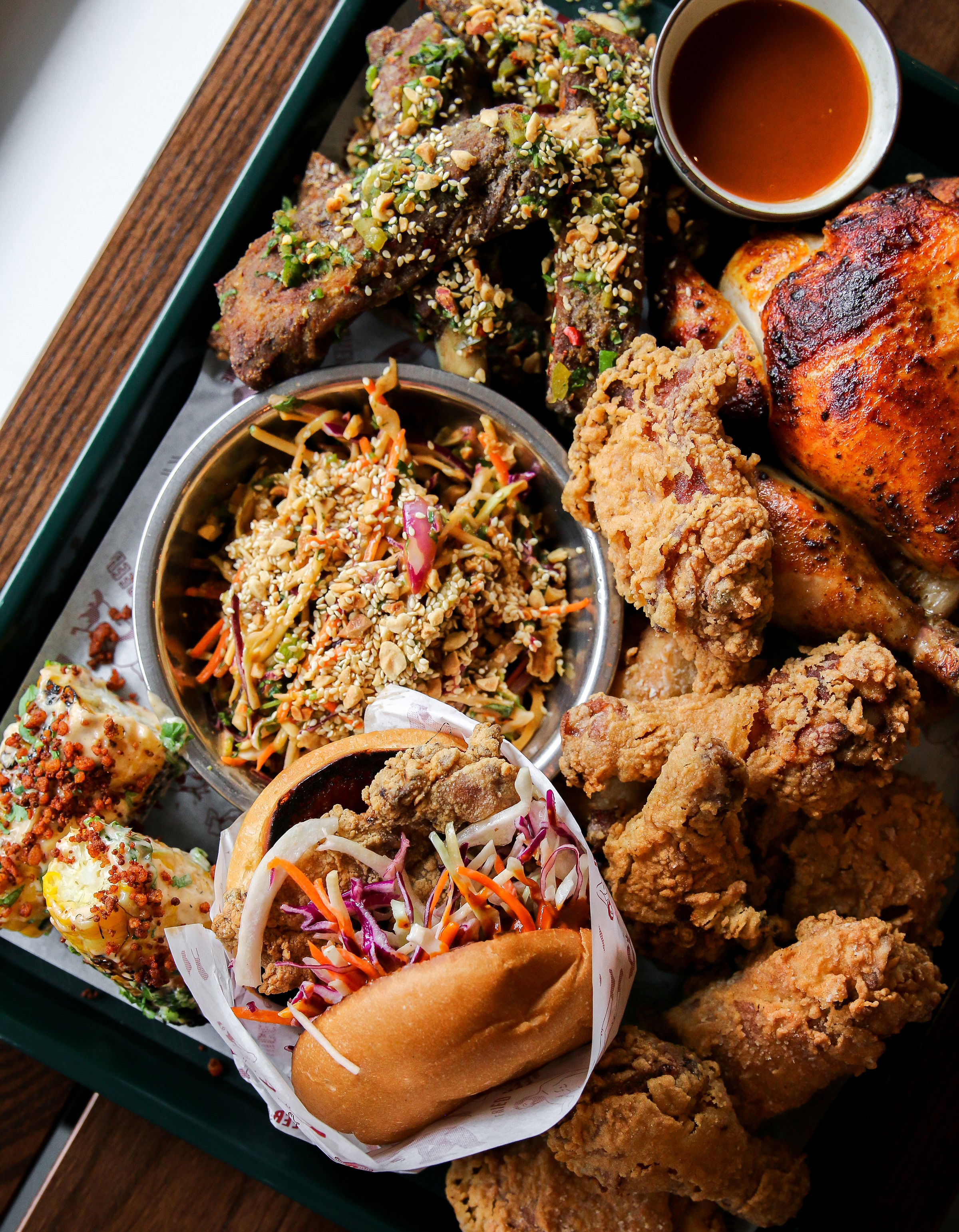 JUKE FRIED CHICKEN'S NEW OUTPOST, 'LITTLE JUKE', OPENS IN ThE WEST END - August 27, 2018Juke Fried Chicken will rule the roost in a new neighbourhood when the popular fried-chicken-and-rib joint officially opens its second location — a.k.a. 'Little Juke' — in the heart of Vancouver's West End neighbourhood at 1074 Davie Street on August 29.Serving up Juke's trademark gluten-free, non-GMO-grain-fed and free-range regular and spicy fried chicken available in various drums-and-thighs sizes, Little Juke will also offer new menu items including quarter, half or whole rotisserie chickens, Vietnamese-inspired nuoc cham ribs, 'Big Boy' fried chicken sandwiches, and sides like mac & cheese poppers and roast potatoes, as well as weekend brunch options on Saturday and Sunday.