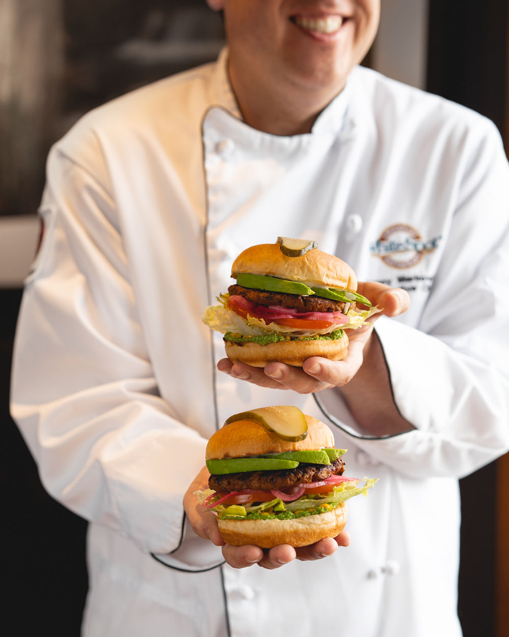 wHITE SPOT INTRODUCESPLANT-BASED BEYOND BURGER PATTY - April 11, 2019Beloved BC restaurant chain White Spot is going above and Beyond to give its guests even more variety this spring by adding the 100%-plant-based Beyond Burger® patty to its menu of mouthwatering signature burgers and entrées beginning Monday, April 15.Available at all full-service White Spot restaurants in BC and Alberta, the hearty four-ounce chargrilled Beyond Meat patty will be showcased in the new Avocado Beyond Burger™. The fully-composed burger features fresh avocado, pickled onions, roasted corn, crisp lettuce, vine-ripened tomatoes, jalapeño ranch and edamame hummus, and is served with a choice of Caesar salad, The Spot's salad, or creamy coleslaw and 'endless' signature Kennebec fries.