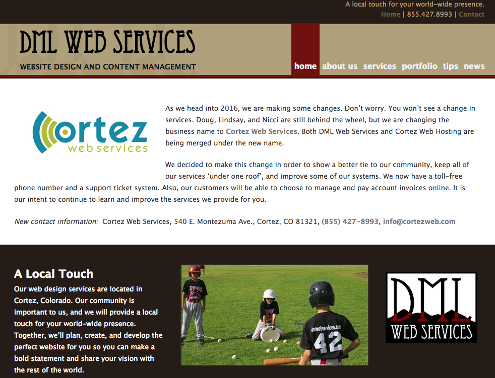 DML Web Services