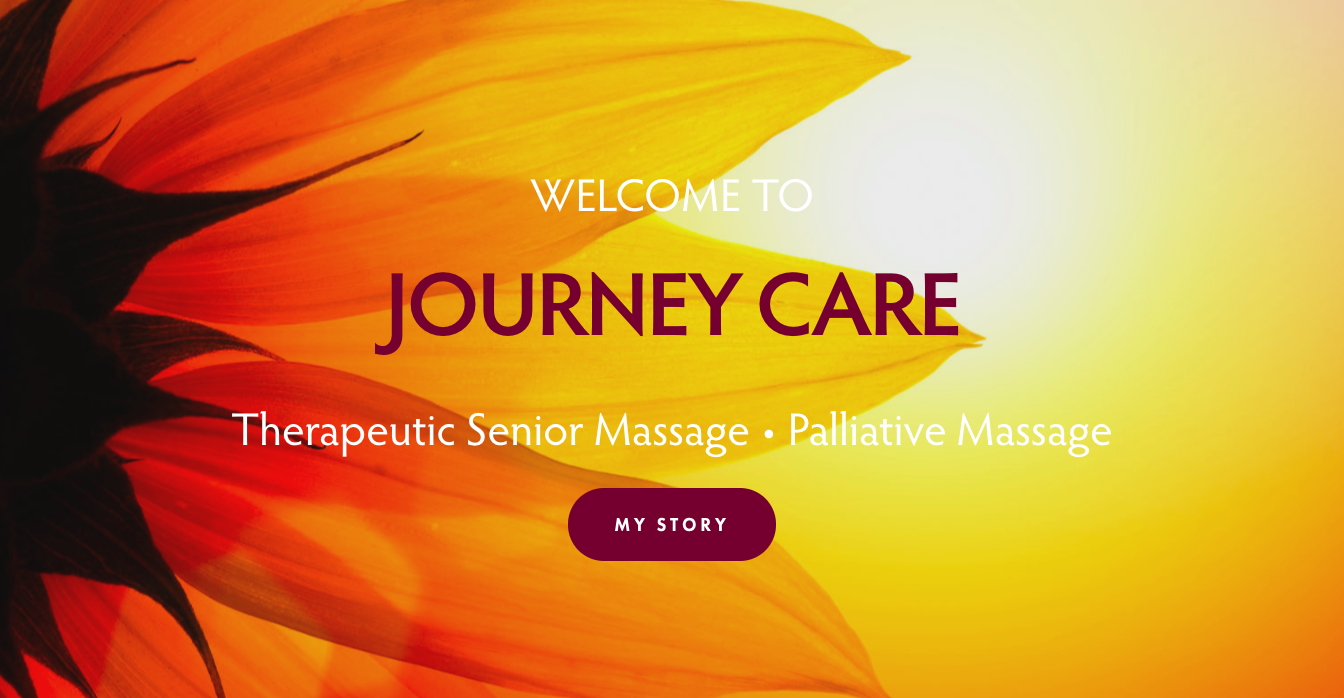 Journey Care Therapeutic Senior and Palliative Massage