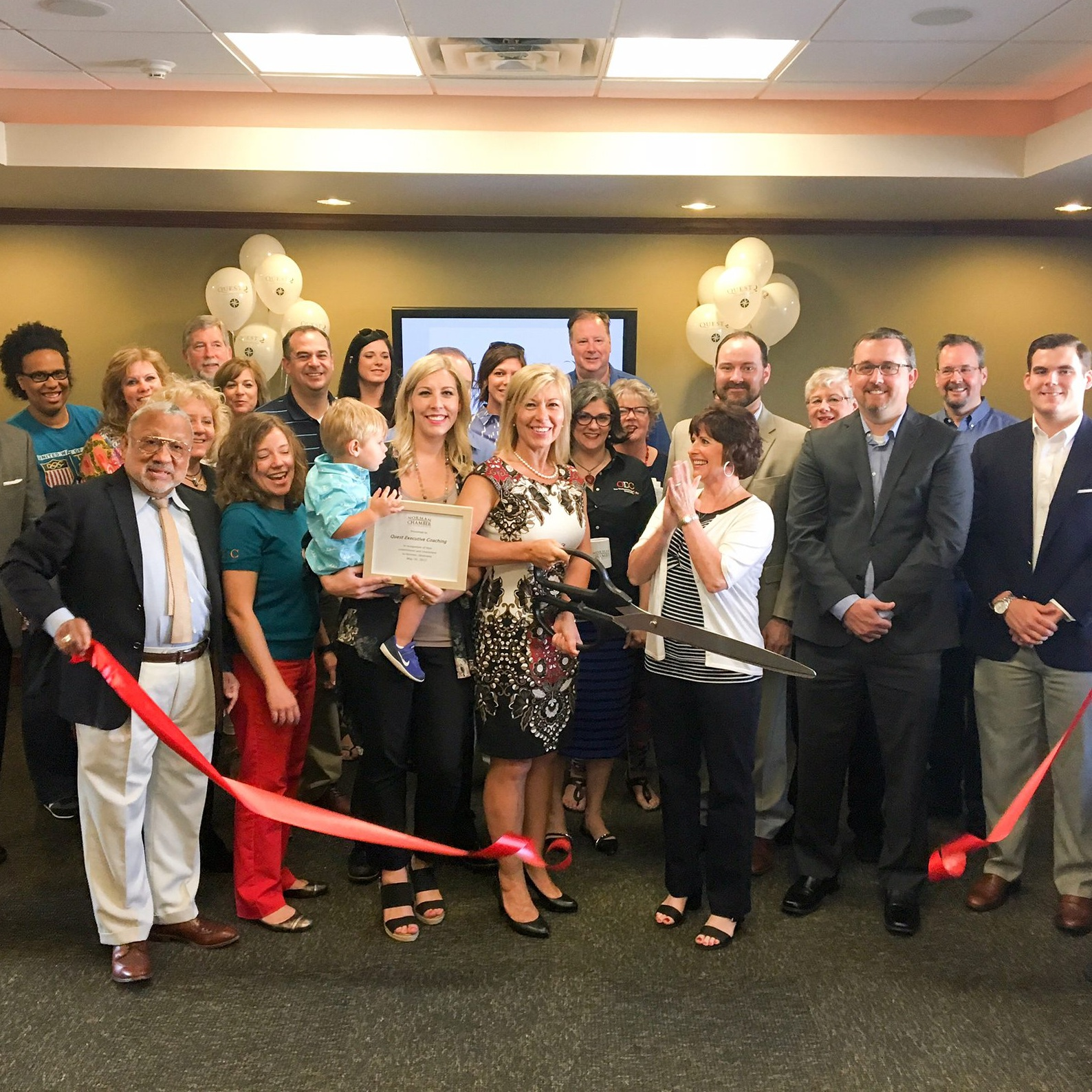 Quest Executive Services Ribbon Cutting
