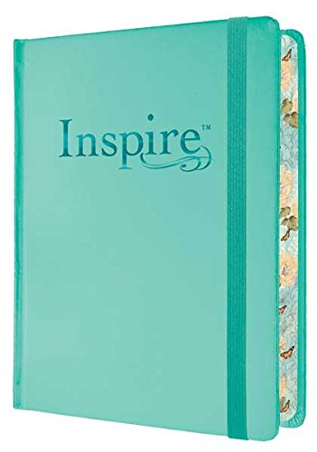 The beautiful  INSPIRE BIBLE  is my favorite journaing/coloring Bible.