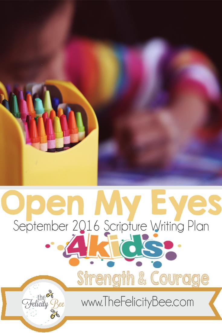 Kids Scripture Writing