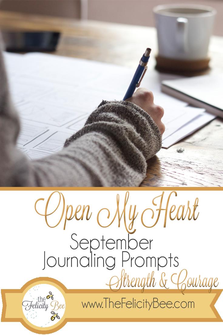 Open My Heart Journaling Prompts