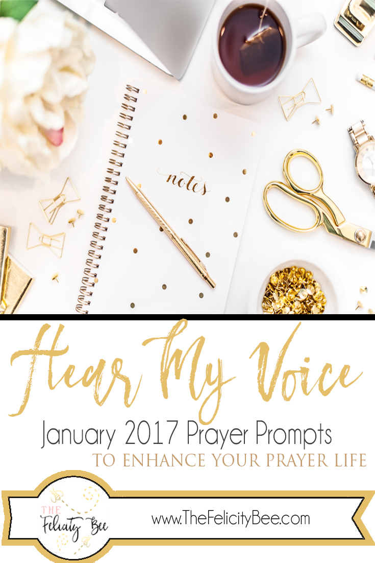 Hear My Voice Prayer Journal Prompts