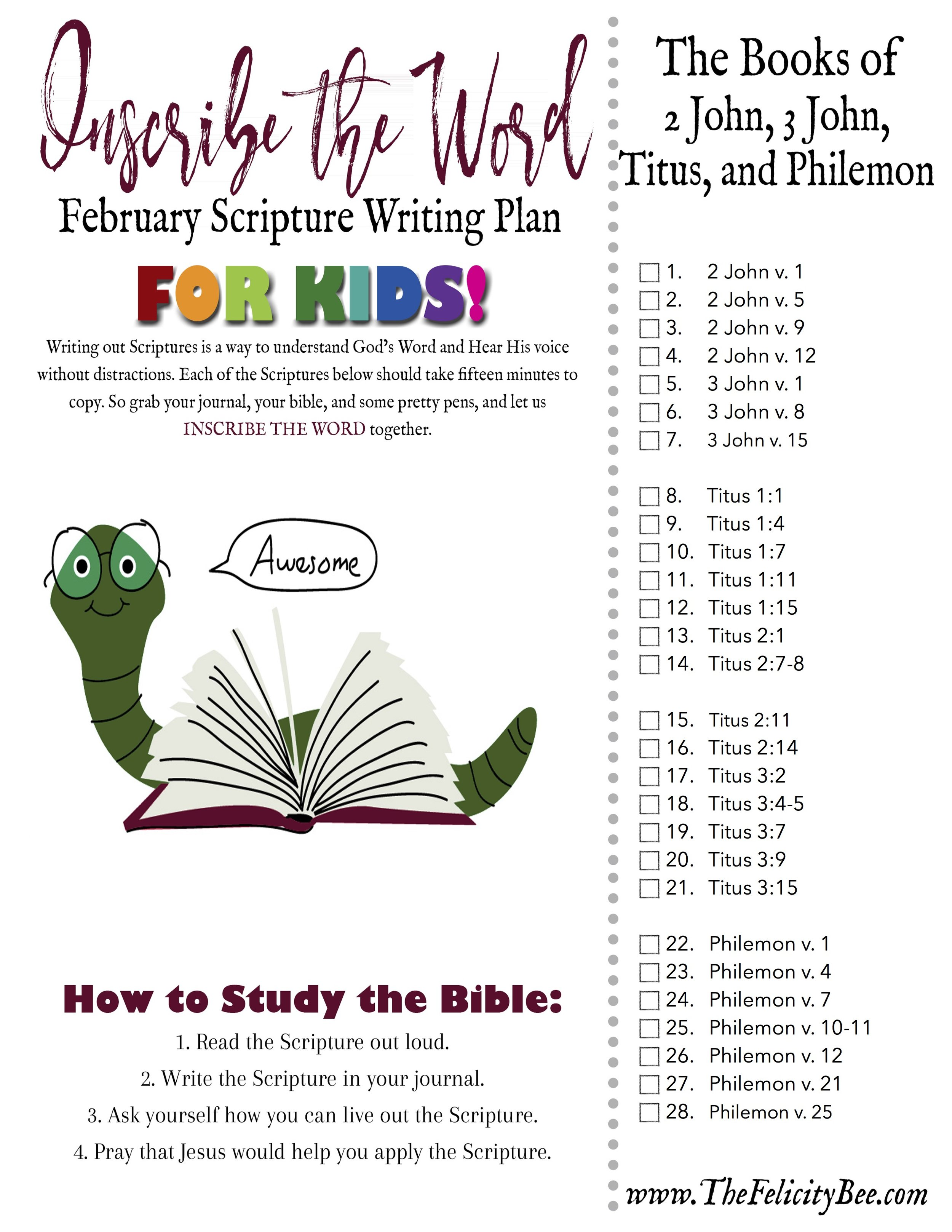 Click here  to download your february Scripture writing plan for kids!