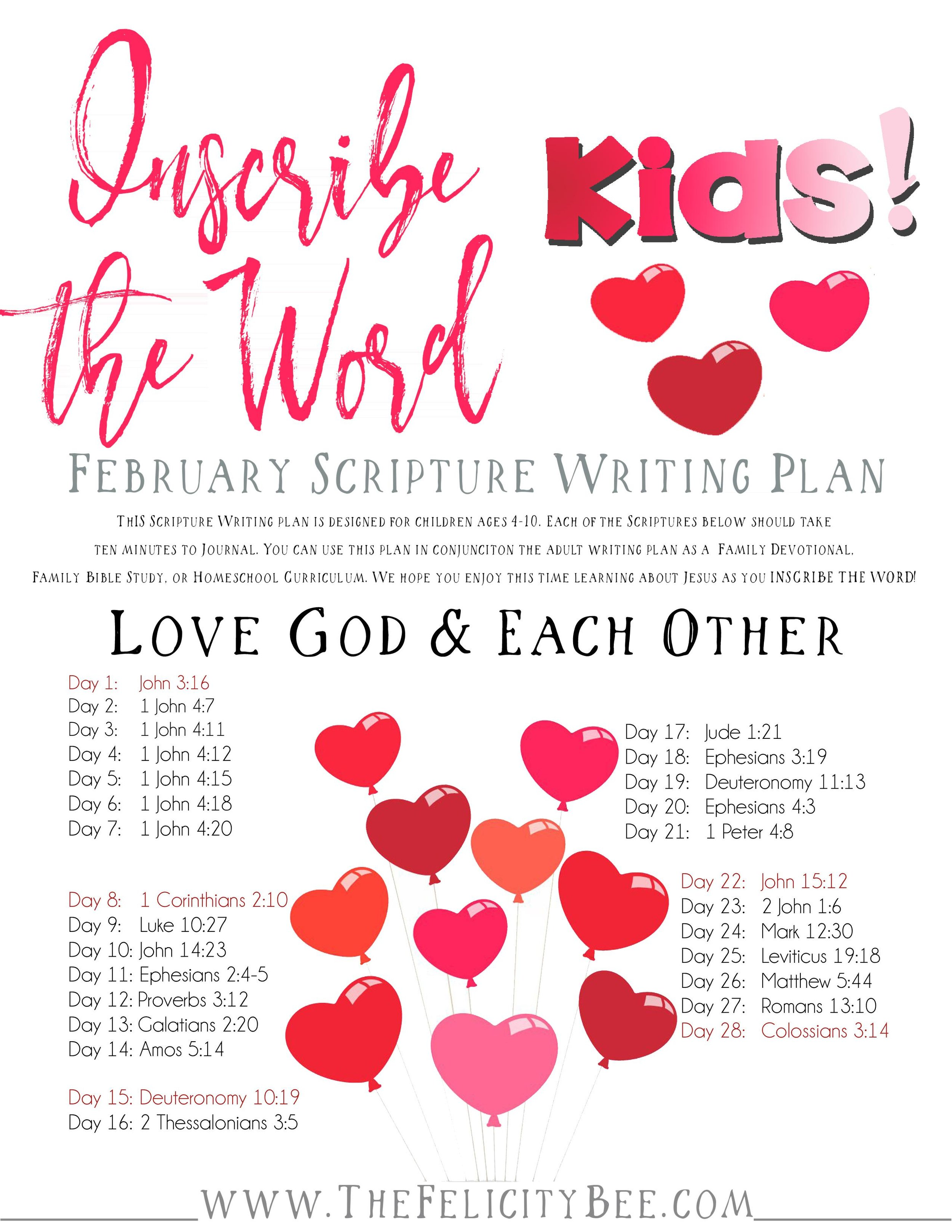 CLICK HERE  to download your Kids' Plan.