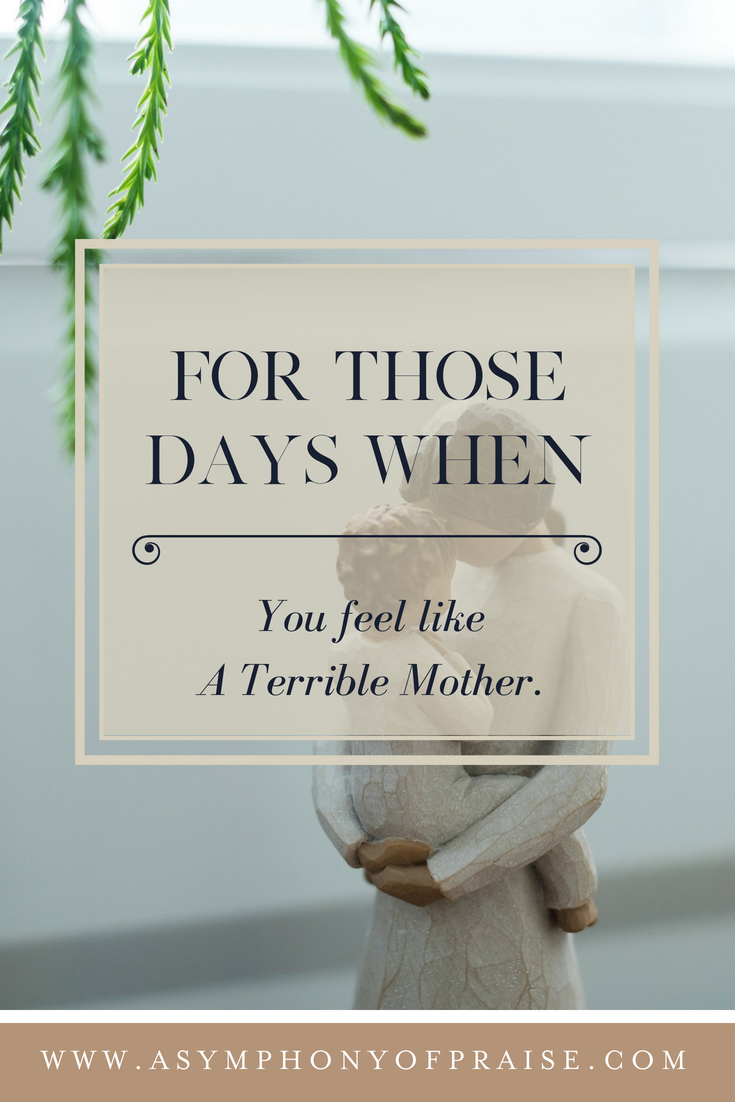 """A routine well visit to the doctor's office had me feeling like a terrible mother. I failed my son. I wasn't doing all the things the way every other Mom does all the things. And then God spoke to me, """"You will never fit into societies mold and neither will your son. I made you both to break the mold."""" This is for all the Mom's who feel defeated, not worthy, and struggling with this thing called motherhood. There is hope."""