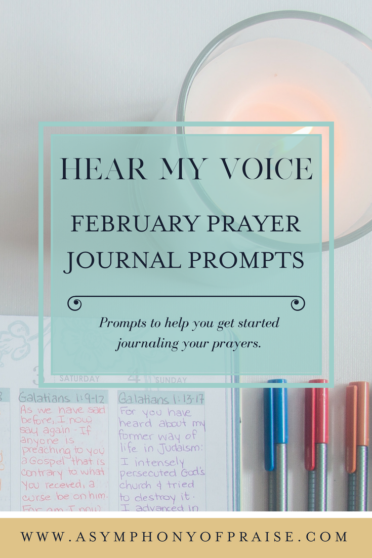 February Prayer Journal Prompts for Prayer Journaling and developing a vibrant relationship with the Lord.
