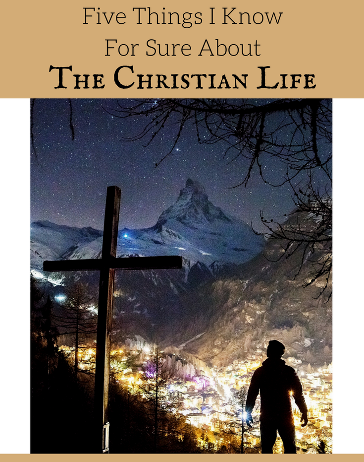 There are FIVE THINGS I know for sure about The Christian Life. Join us for this study out of 1 John 5. We will dig deep into five promises God gives us about this life.
