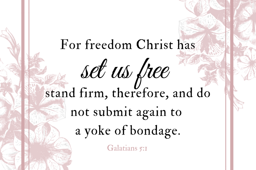 The book of Galatians is a powerful book that reminds us that we do not live under the law of sin and bondage, but under the freedom of Jesus Christ. Join us for our March Scripture Writing Plan as we Inscribe THE BOOK OF GALATIANS.