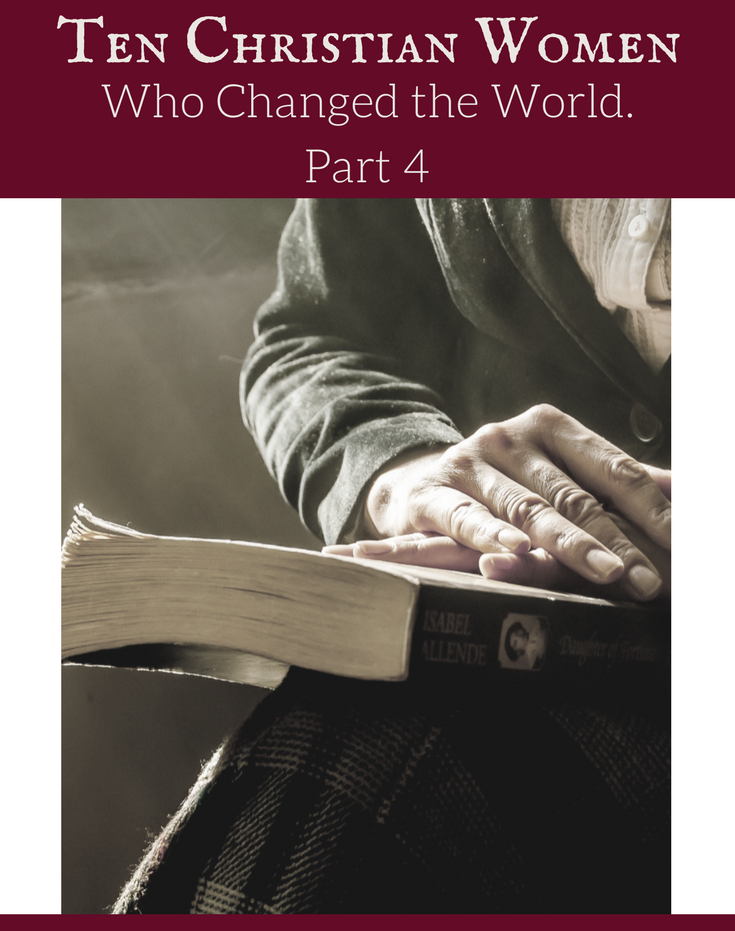 Join us for a five-part series at The Felicity Bee as we look at the lives of TEN CHRISTIAN WOMEN who changed the world. In Part 4, we will take a look at the lives of Catherine Booth and Amy Carmichael . . .