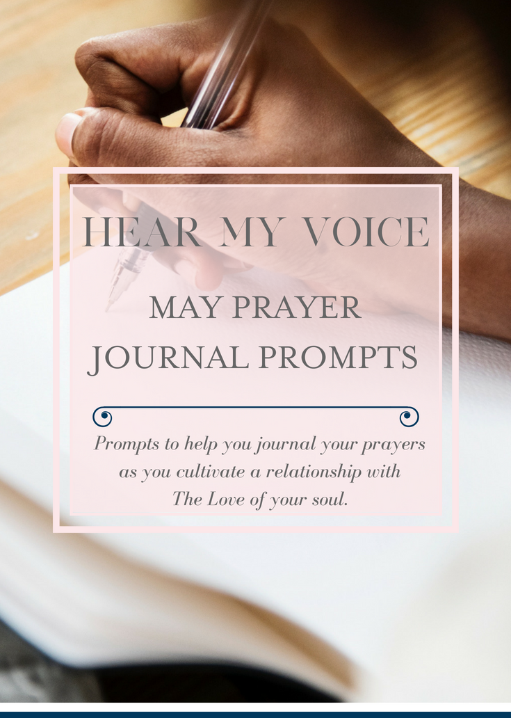 May Prayer journal prompts to help you journal your prayers.