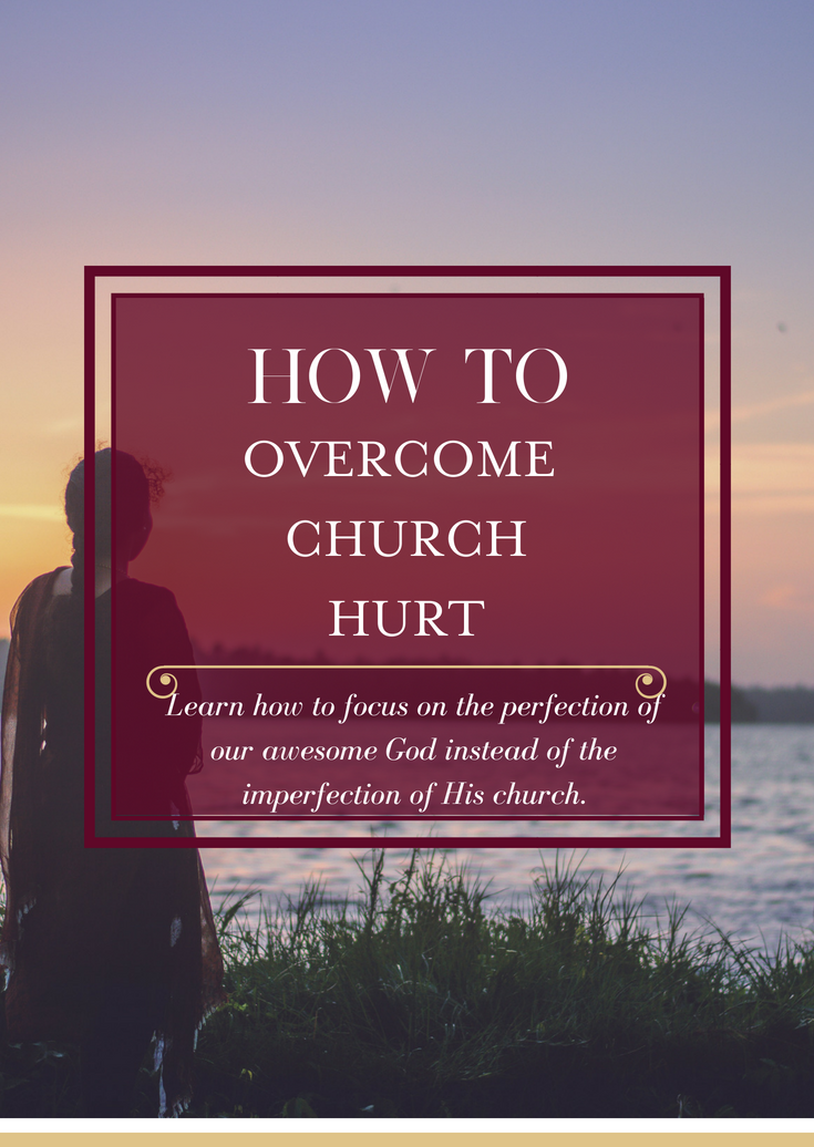 Overcoming Church Hurt is one of the most painful experiences we go through as a Christian, but with Christ's help, there is healing when the church has hurt us.