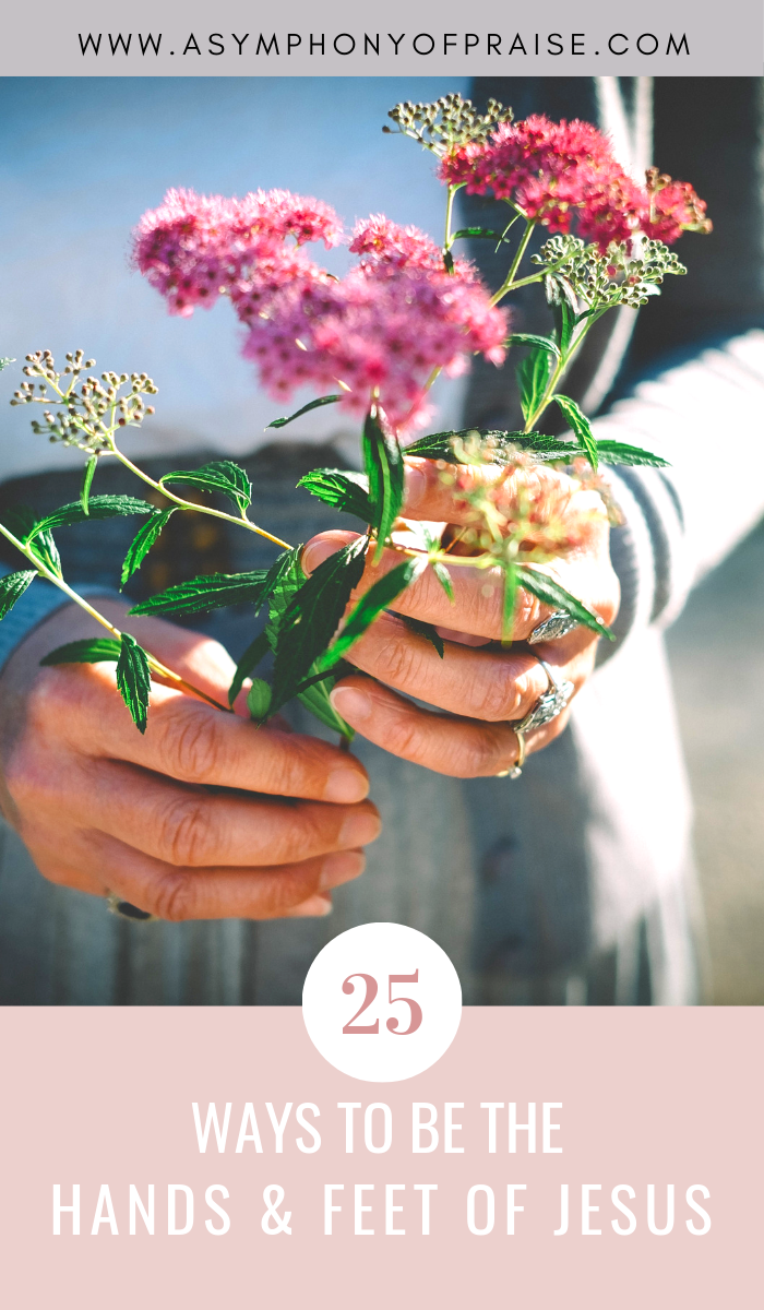 Join A Symphony of Praise for a short topical Bible Study on the Parables of Jesus. This parable will give us the tools we need to love like Jesus, and to be the hands and feet of The Lord. As Christians we are called to serve others. Here are 25 Ways we can love like Jesus.
